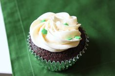 The brilliance of this recipe is that it both layers and melds the flavors of each liquor, just like the drink that it's based on. The whiskey in the ganache is sharp and bracing, the Baileys soothes as buttercream frosting, and the Guinness gives a moist, malty texture to the chocolate cake.