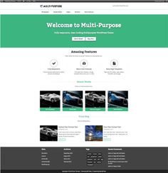 20+ Best Free Minimal WordPress Themes #Wordpress