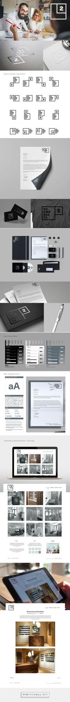 visual identity | Do Kwadratu Branding by Lukasz KuIakowski