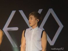 Xiumin - 160227 Exoplanet #2 - The EXO'luXion in Jakarta Credit: Nathasya92.