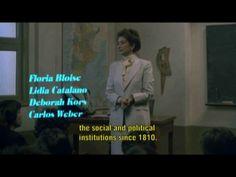 """La película """"La Historia Oficial""""- con subtítulos en inglés."""