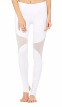 Side Diamond Mesh Stirrup Leggings - Two Colors Available Mesh Workout Leggings, Mesh Leggings, Stirrup Leggings, Fitness Fashion, Fit Women, White Jeans, Abs, Ab Workouts, Female