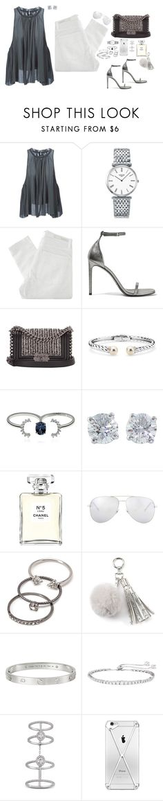 """""""Losing time"""" by feelin-q ❤ liked on Polyvore featuring Isabel Marant, Longines, Nobody Denim, Yves Saint Laurent, Chanel, Blue Nile, Maison Margiela, Tiffany & Co., Forever 21 and Juicy Couture"""