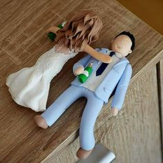 Hey, I found this really awesome Etsy listing at https://www.etsy.com/listing/534957162/drunk-wedding-cake-topper