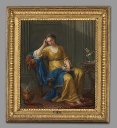 ART OF THE DAY: Sweet Melancholy, 1756 Joseph-Marie Vien the Elder (French, 1716-1809) at the Cleveland Museum of Art.