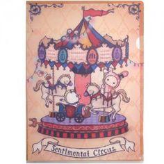 San-X A4 Folder: Sentimental Circus