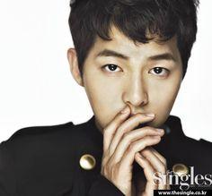 핫한 남자, 송중기, Singles Korea December 2012