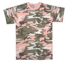 Rothco Subdued Pink Camo T-Shirt