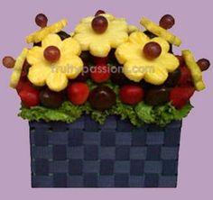 fruit kabob basket