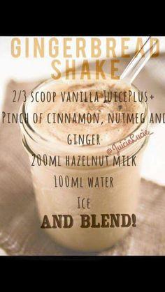Gingerbread Shake Baking Ingredients, Cookie Dough, Shake, Gingerbread, Cinnamon, Milk, Cookies, Food, Canela
