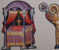 Byzantine Icons, Orthodox Icons, Altar, Fresco, Angels, Painting, Mary Jesus Mother, Fresh, Angel