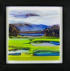 A kiln fired fused glass artist who designs landscape panels in glass, either free-standing or wall art. Located in Rhode Island, Alice Benvie Gebhart specializes in the northeast gardens, beaches and trees. Glass Wall Art, Fused Glass Art, Mosaic Glass, Stained Glass Designs, Stained Glass Panels, Slumped Glass, Fire Glass, Classic Paintings, Decoration