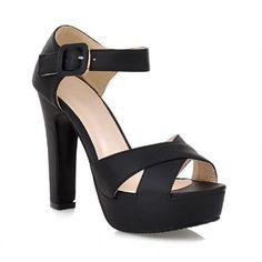 Carol Shoes Fashion Womens Platform High Heel Peep Toe Sandals (7.5, Black) Carol Shoes http://www.amazon.com/dp/B00JQH0RXS/ref=cm_sw_r_pi_dp_ULT6tb1PR79FX