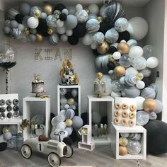 New birthday table balloons party planning ideas Deco Baby Shower, Baby Shower Backdrop, Shower Party, Baby Shower Parties, Baby Shower Themes, Baby Boy Shower, Shower Ideas, Boy Baby Showers, Shower Games