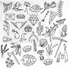 ideas for drawing ideas tattoo sketches hand drawn - Hand Nail Design FoR Women Kritzelei Tattoo, Doodle Tattoo, Piercing Tattoo, Doodle Art, How To Tattoo, How To Draw Tattoos, Mini Tattoos, New Tattoos, Body Art Tattoos