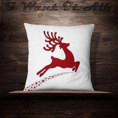 Blue Christmas Decor, Cool Christmas Trees, Christmas Makes, Handmade Christmas, Christmas Decorations, Christmas Ornaments, Xmas, Christmas Cushions, Christmas Pillow