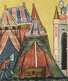 medieval tent |