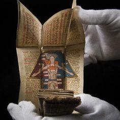 Portable medieval manuscript