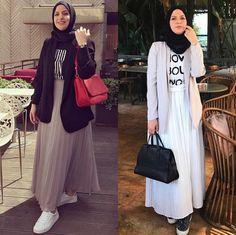 Pinterest @adarkurdish Muslim Fashion, Hijab Fashion, Dress Skirt, Angel, School, Skirts, Dresses, Style, Skirt