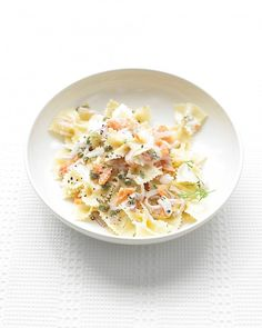 Farfalle with Smoked Salmon and Cream Cheese