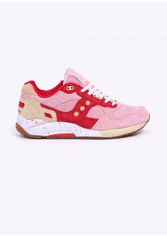 51db415ed9 Saucony G9 Shadow 5 'Scoops Pack' Trainers - Strawberry - RESTOCK