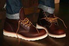 Redwing boot, new color for fall 2012, now in stock.