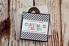Christmas Cheer FREE Gift Tag ::Bloggers Best 12 Days of Christmas - The Crafting Chicks