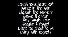 laugh, life, quotes, true, thought, shorts, inspir, regret, live