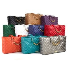 """pick color New JOY /& IMAN /""""Fashionably Functional/"""" Luxe Quilted Wallet"""