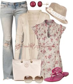 """""""Tory Burch"""" by wishlist123 ❤ liked on Polyvore"""