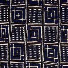 Bogolanfini - Mud Cloth tafé (wrapper)(#mc-1) Nakunte Diarra - Bamana people, Beledougou area, Mali, 2003 cotton.