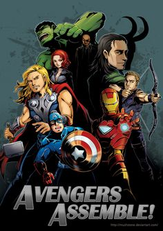 The Avengers. The Lantern and I are working on getting together a group to dress up for Halloween at work!