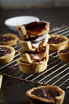 Don't make these salted caramel and chocolate cups. Don't do it. Because you will not be able to stop eating them and there will be salted caramel l