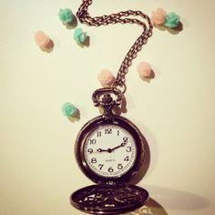 Collana orologio cipolla!!!tic tac