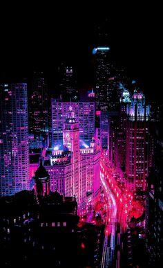 Cyberpunk Aesthetic, Cyberpunk City, Neon Aesthetic, Night Aesthetic, Scenery Wallpaper, Pastel Wallpaper, Wallpaper Backgrounds, Cityscape Wallpaper, Aesthetic Backgrounds