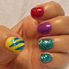 Ariel nails!