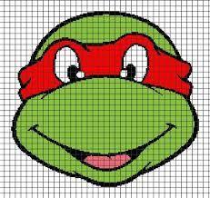 """Résultat de recherche d'images pour """"modele pull tortue ninja tricot point de croix"""""""