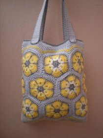 """New Cheap Bags. The location where building and construction meets style, beaded crochet is the act of using beads to decorate crocheted products. """"Crochet"""" is derived fro Crochet Purse Patterns, Crochet Tote, Crochet Handbags, Crochet Purses, Bag Patterns, Crochet Hooks, Crotchet Bags, Crochet African Flowers, Flower Bag"""