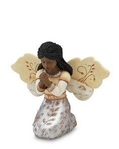 In Faith Angel Figurine