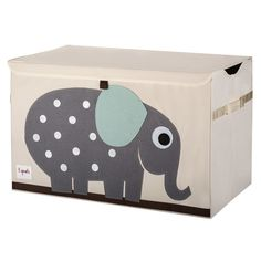 3 Sprouts Elephant Toy Chest - Nursery Storage