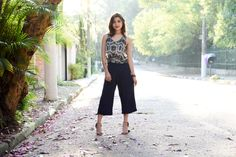 Look: Pantacourt e salto