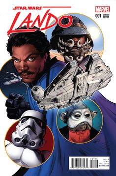 You know him...you love him...now, join him for his biggest caper as master of charm Lando Calrissian gets his very own comic book! Before he joined the rebellion, before he ran Cloud City, Lando made