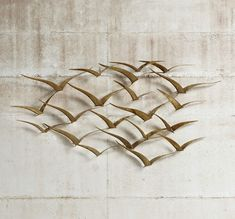 Excellent metal wall art flocking birds 47 scyjsdh