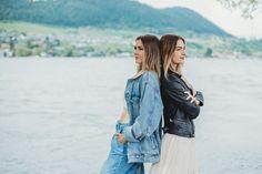 fashion (denim + leather)
