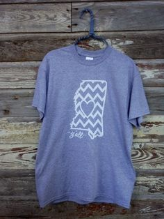 Mississippi Chevron T-Shirt Ya'll | SouthernFashionHouse