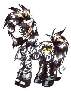 Andy Biersack as a 'My Little Pony'. LOLOLOLOLOL EXUSE ME WHILE I GO DIG MY GRAVE LOLOLOLOLOLOL