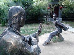 石头人 Beijing China, Garden Sculpture, Outdoor Decor, Home Decor, Homemade Home Decor, Interior Design, Home Interiors, Decoration Home, Home Decoration