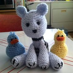 Kitty and duckies
