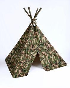 Take a look at this TeePee for Me Green Camo Indoor Teepee by Pajama Party Collection on today!