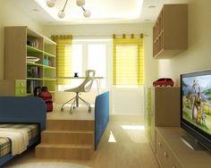 modern and creative teen bedroom